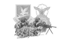 AIR FORCE SECURITY FORCES - PRINTS SOLD OUT - ORIGINAL SOLD